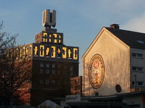 Die Sonne lacht, der BVB hat gewonnen.